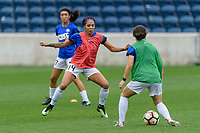 Bridgeview, IL - Sunday August 20, 2017: Sydney Leroux Dwyer during a regular season National Women's Soccer League (NWSL) match between the Chicago Red Stars and FC Kansas City at Toyota Park. KC Kansas City won 3-1.