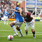 Steven Whittaker grapples with David Templeton