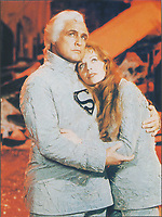 Superman (1978) <br /> Marlon Brando &amp; Susannah York<br /> *Filmstill - Editorial Use Only*<br /> CAP/KFS<br /> Image supplied by Capital Pictures