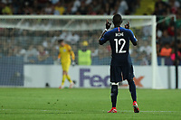Jonathan Ikone of France celebrates after scoring a goal<br /> Cesena 18-06-2019 Stadio Dino Manuzzi <br /> Football UEFA Under 21 Championship Italy 2019<br /> Group Stage - Final Tournament Group C<br /> England - France<br /> Photo Cesare Purini / Insidefoto