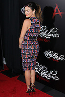HOLLYWOOD, LOS ANGELES, CA, USA - MAY 31: Actress Lucy Hale arrives at the 'Pretty Little Liars' 100th Episode Celebration held at W Hotel Hollywood on May 31, 2014 in Hollywood, Los Angeles, California, United States. (Photo by Xavier Collin/Celebrity Monitor)
