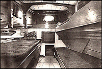 BNPS.co.uk (01202 558833)<br /> Pic: ArronFrench/BNPS<br /> <br /> Forward cabin at the time of Dunkirk.<br /> <br /> A couple who spent &pound;3,000 saving an historic 'little' ship that served in and survived three wars are now set to sell it for &pound;160,000.<br /> <br /> Arron and Tina French found the 40ft Caretta in a run-down and rotten state in a marina where it had languished for almost 20 years.<br /> <br /> They bought it for &pound;2,200 and remarkably spent &pound;1,000 and four months restoring it to its former 19th century glory.<br /> <br /> They have now decided to sell it and although it has been given a pre-sale estimate of &pound;60,000, they have been told the historic vessel could go for almost three times that figure.