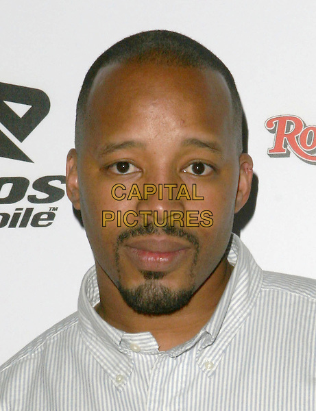WARREN G.Kanye West  Post Grammy Party hosted by Boost Mobile and Dave Meyers. Los Angeles, California..February 13th, 2005.Photo Credit: Zach Lipp/AdMedia.headshot portrait goatee facial hair.www.capitalpictures.com.sales@capitalpictures.com.© Capital Pictures.