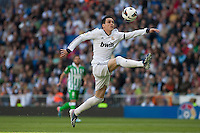 Callejon controlling the ball