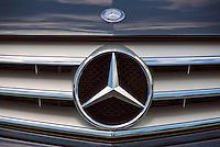 Mercades Benz, Auto, Front Grill, Emblem, Symbol, Close up, Cars, Auto, Automobile, Transportation,