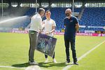 Jonas Weik beim Spiel in der 3. Liga, SV Waldhof Mannheim - FSV Zwickau.<br /> <br /> Foto © PIX-Sportfotos *** Foto ist honorarpflichtig! *** Auf Anfrage in hoeherer Qualitaet/Aufloesung. Belegexemplar erbeten. Veroeffentlichung ausschliesslich fuer journalistisch-publizistische Zwecke. For editorial use only. DFL regulations prohibit any use of photographs as image sequences and/or quasi-video.