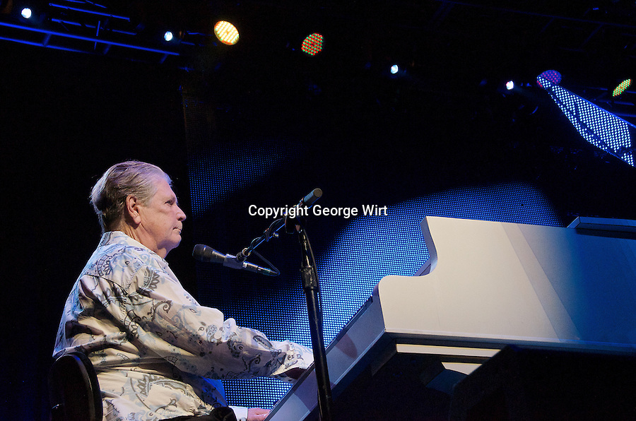 Rock icons Brian Wilson and Jeff Beck teamed up for an historic concert tour in 2013. The Beach Boys founding member and the British blues-rock guitarist were joined by a company of 15 musicians that included Al Jardine, David Marks, Blondie Chaplin, Elizabeth Ball and Rhoda Smith.