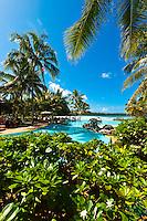 The Le Meridien Isle of Pines beach resort hotel, Baie d'Oro (Oro Bay), Ile des Pins (Isle of Pines), New Caledonia