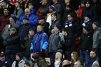 Preston North End fans enjoy the atmosphere at the New York Stadium<br /> <br /> Photographer David Shipman/CameraSport<br /> <br /> The EFL Sky Bet Championship - Rotherham United v Preston North End - Tuesday 1st January 2019 - New York Stadium - Rotherham<br /> <br /> World Copyright © 2019 CameraSport. All rights reserved. 43 Linden Ave. Countesthorpe. Leicester. England. LE8 5PG - Tel: +44 (0) 116 277 4147 - admin@camerasport.com - www.camerasport.com