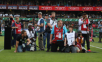 PRETORIA, SOUTH AFRICA - OCTOBER 06: Photographers at the Rugby Championship match between South Africa Springboks and New Zealand All Blacks at Loftus Versfeld Stadium. on October 6, 2018 in Pretoria, South Africa. Photo: Steve Haag / stevehaagsports.com