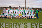 The Na Gaeil team who beat Granagh/Ballingary(LK) in the Muster Junior B Football Final last Sunday afternoon in Knockaderry. F l-r: Eoghain Sheedy, Kieran Dinee, Paul Duffy, Colm Lyons, Richard Barrett, Diarmuid Herlihy, Adrian Quirke, David Culloty, Niall Lucey, Donal Rooney, Enda Culloty. B l-r: Eoin Doody, John Reen, Seamus O'Neill, Eamonn O'Neill, Dylan Brazil, Declan Doody, Ian McCarthy, Robert Murphy, Tim Dinee, Daniel O'Mahony, Ian McCarthy, Michael Griffen, David Ross, Timmy Cotter, Eoin O'Neill
