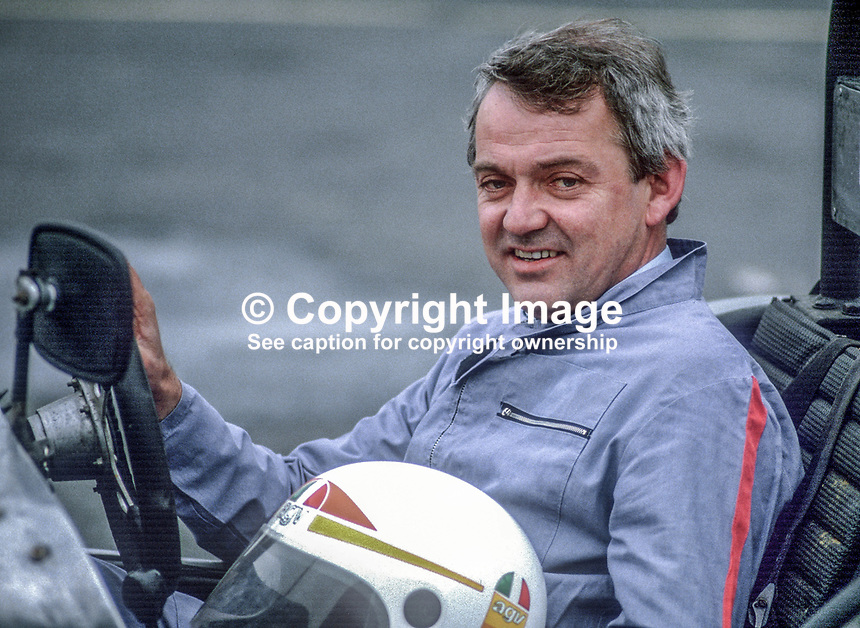 Billy Ogle, Newcastle, Co Down, N Ireland, racing driver, 19850604BO1..Copyright Image from Victor Patterson, 54 Dorchester Park, Belfast, UK, BT9 6RJ..Tel: +44 28 9066 1296.Mob: +44 7802 353836.Voicemail +44 20 8816 7153.Skype: victorpattersonbelfast.Email: victorpatterson@me.com.Email: victorpatterson@ireland.com (back-up)..IMPORTANT: If you wish to use this image or any other of my images please go to www.victorpatterson.com and click on the Terms & Conditions. Then contact me by email or phone with the reference number(s) of the image(s) concerned.
