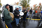 Officials hold a ribbon-cutting ceremony to kick off the Road to the Future celebration in downtown Carson City, Nev. on Friday, Oct. 28, 2016. <br /> Photo by Cathleen Allison