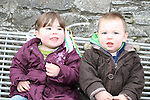 Lacy and Francis Chisnell at the 2011 St.Patrick's Day Parade in Dunleer...(Photo credit should read Jenny Matthews/www.newsfile.ie)....This Picture has been sent you under the conditions enclosed by:.Newsfile Ltd..The Studio,.Millmount Abbey,.Drogheda,.Co Meath..Ireland..Tel: +353(0)41-9871240.Fax: +353(0)41-9871260.GSM: +353(0)86-2500958.email: pictures@newsfile.ie.www.newsfile.ie.