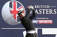 Wade Ormsby (AUS) plays to the 17th during the Final Round of the British Masters 2015 supported by SkySports played on the Marquess Course at Woburn Golf Club, Little Brickhill, Milton Keynes, England.  11/10/2015. Picture: Golffile | David Lloyd<br /> <br /> All photos usage must carry mandatory copyright credit (&copy; Golffile | David Lloyd)