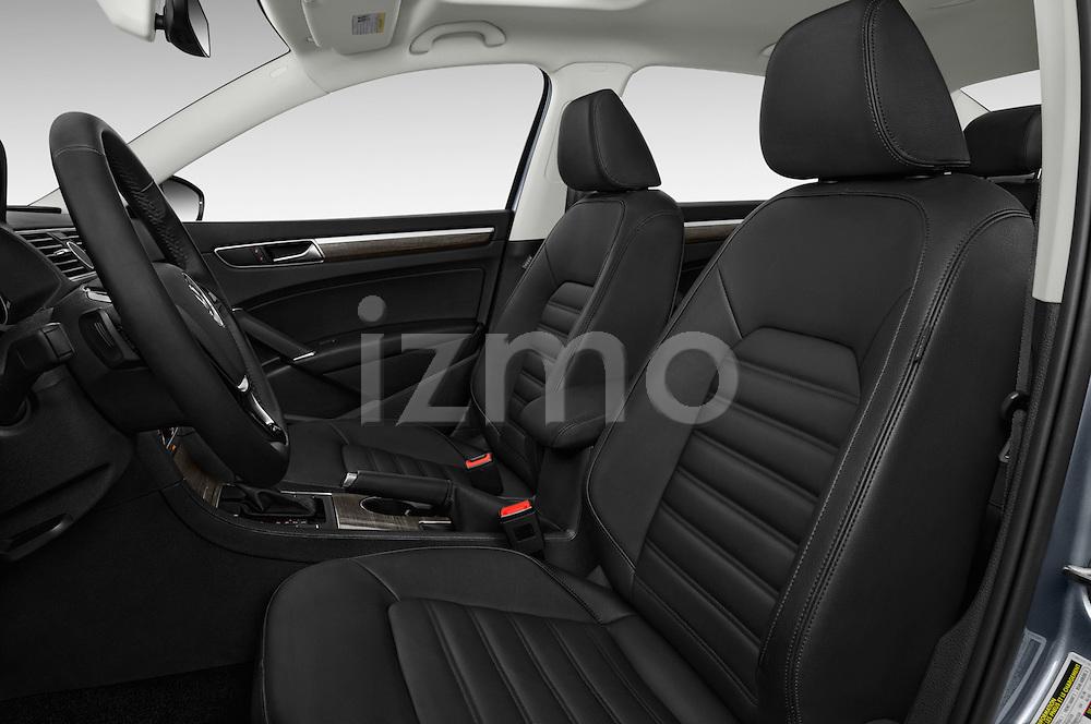 Front seat view of 2016 Volkswagen Passat 3.6L-SEL-Premium-Auto 4 Door Sedan Front Seat  car photos