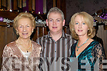 ENJOYING: Ann O'Connor and Derry and Joan Sheahan, Killarney, enjoying New Year's Eve in O'Riains Restaurant, Killarney.   Copyright Kerry's Eye 2008