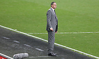Swansea City manager Paul Clement during the Premier League match between Swansea City and Huddersfield Town at The Liberty Stadium, Swansea, Wales, UK. Saturday 14 October 2017