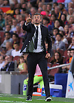 20.09.2015 Barcelona.Spanish la Liga BBVA day 4. Picture show Luis Enrique in action during game between FC Barcelona against Levante at Camp Nou