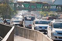 SÃO PAULO -SP-11,09,2014-TRÂNSITO AVENIDA REBOUÇAS- O Motorista não enfrenta lentidão na Avenida Rebouças ambos sentidos.Região Oeste da cidade de São Paulo,na manhã dessa quinta-feira,11(Foto:Kevin David/Brazil Photo Press)