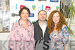 SHORT FILMS: Enjoying the best of the Irish Short Films from 2010 Kerry Film Festival at the Windmill, Blennerville on Friday l-r: Edwina Neilan (festival coordinator), Martin Ross and Sarah Smyth (festival director).