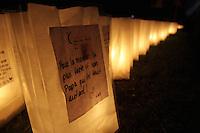 /Montreal (QC) CANADA - June 8 2012 -  Relai pour la vie de la Societe canadienne du cancer  2012 - Montreal-Centre au Parc Maisonneuve