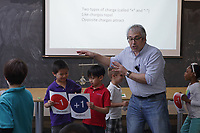 NEST+m 2nd grade public school visit to NYU Physics and Chemistry departments May 2017