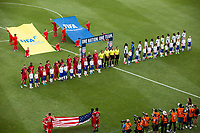 Commerce City, CO - Thursday June 08, 2017: USMNT vs Trinidad & Tobago starting eleven's during their 2018 FIFA World Cup Qualifying Final Round match versus Trinidad & Tobago at Dick's Sporting Goods Park.