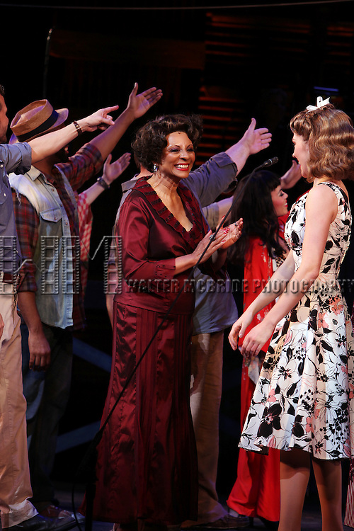 Leslie Uggams.during the New York City Center Encores! 'Pipe Dream' Opening Night Curtain Call in New York City on 3/28/2012.
