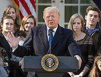 Donald Trump Addresses the March for Life