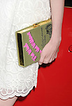 WEST HOLLYWOOD, CA- MAY 02: Actress/model Lydia Hearst (handbag detail) at the Jaguar North America and BritWeek present a Villainous Affair held at The London on May 2, 2014 in West Hollywood, California.