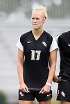 18 September 2011: Florida State's Ella Stephan. The Duke University Blue Devils defeated the Florida State University Seminoles 2-1 at Koskinen Stadium in Durham, North Carolina in an NCAA Division I Women's Soccer game.