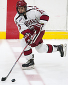 Nathan Krusko (Harvard - 13) - The Harvard University Crimson defeated the US National Team Development Program's Under-18 team 5-2 on Saturday, October 8, 2016, at the Bright-Landry Hockey Center in Boston, Massachusetts.
