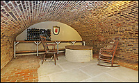 BNPS.co.uk (01202 558833)<br /> Pic: Riverhomes/BNPS<br /> <br /> Huge wine cellar underneath the property...<br /> <br /> Buy a bit of London Pride...Red Lion House was once the pub attached to the famous Fullers brewery in Chiswick.<br /> <br /> Yours for &pound;8million - Beer fans with deep pockets will want to get their hands on this famous former pub - as it's all but attached to the historic Fullers brewery by the Thames in Chiswick.<br /> <br /> Red Lion House, on exclusive Chiswick Mall in west London, was originally built as a pub more than 300 years ago for Thomas Mawson's brewery, which went on to become Fuller's in 1845.<br /> <br /> Back in the 18th and 19th centuries, the pub would have been a bustling hive of activity with boat crews and carters as regular customers, but it is now a tranquil and elegant riverside home.<br /> <br /> It does have an incredible wine cellar with a barrelled ceiling that is perfect for hosting parties if the new owners want to play publican.