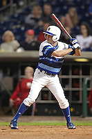 Seton Hall Pirates outfielder Zach Granite #8 during a game against the Ohio State Buckeyes at the Big Ten/Big East Challenge at Florida Auto Exchange Stadium on February 18, 2012 in Dunedin, Florida.  (Mike Janes/Four Seam Images)