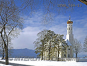 Gerhard, CHRISTMAS LANDSCAPES, WEIHNACHTEN WINTERLANDSCHAFTEN, NAVIDAD PAISAJES DE INVIERNO, Christmas symbols, Weihnachten Symbole, Navidad sí,church in bavaria winter, photos+++++,DTMB564-23,#XL#