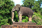 ELEPHANT FIGURE IN EASTERN MEBON, TEMPLES OF ANGKOR, SIEM REAP
