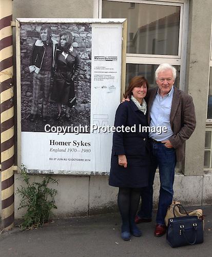HWS and Patricia, 2014 Paris. Photo Sarah Gay.