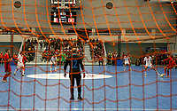 20200201 Herentals , BELGIUM :  Illustrative picture of the futsal indoor soccer game between the Belgian Futsal Devils of Belgium and Montenegro on the third and last matchday in group B of the UEFA Futsal Euro 2022 Qualifying or preliminary round , Saturday 1st February 2020 at the Sport Vlaanderen sports hall in Herentals , Belgium . PHOTO SPORTPIX.BE | Sevil Oktem