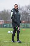 10.01.2018, Trainingsgelaende, Bremen, GER, 1.FBL, Training SV Werder Bremen<br /> <br /> im Bild<br /> Florian Kohfeldt (Trainer SV Werder Bremen), <br /> <br /> Foto &copy; nordphoto / Ewert