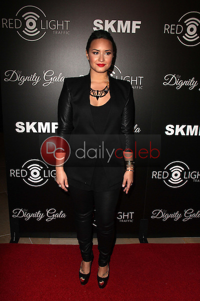 Demi Lovato<br /> Dignity Gala and Launch of Redlight Traffic App, Beverly Hilton Hotel, Beverly Hills, CA 10-18-13<br /> David Edwards/DailyCeleb.Com 818-249-4998