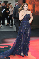 Elizabeth Olsen arriving for the European premiere of Godzilla, at Odeon Leicester Square, London. 11/05/2014 Picture by: Alexandra Glen / Featureflash