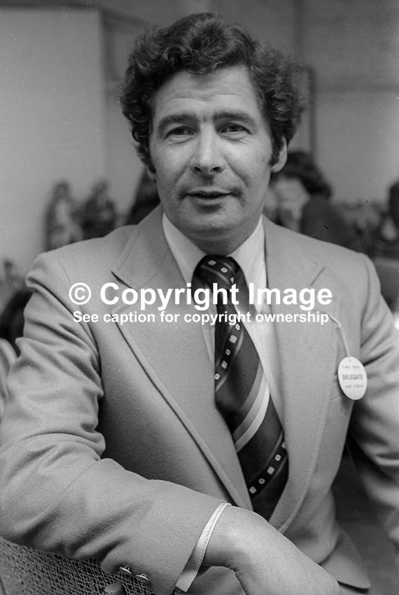 Charles McDonald, senator, Fine Gael, political party, Rep of Ireland, May, 1978, 197805000170.<br /><br />Copyright Image from Victor Patterson, 54 Dorchester Park, <br />Belfast, UK, BT9 6RJ<br /><br />t1: +44 28 9066 1296 (from Rep of Ireland 048 9066 1296)<br />t2: +44 28 9002 2446 (from Rep of Ireland 048 9002 2446)<br />m: +44 7802 353836<br /><br />victorpatterson@me.com<br />www.victorpatterson.com<br /><br />Please see my Terms and Conditions of Use at VICTORPATTERSON.COM. It is IMPORTANT that you familiarise yourself with them.<br /><br />Images used on the Internet must be visibly watermarked i.e. &copy;VICTORPATTERSON.COM within the body of the image and copyright metadata must not be deleted. Images used on the Internet have a size restriction of 4kbs and are chargeable at the then current NUJ rates.<br /><br />This image is only available for the use of the download recipient i.e. television station, newspaper, magazine, book publisher, etc, and must not be passed on to any third party. It is also downloaded on condition that each and every usage is notified within 7 days to victorpatterson@me.com<br /><br />The right of Victor Patterson to be identified as the author is asserted in accordance with The Copyright Designs And Patents Act (1988).