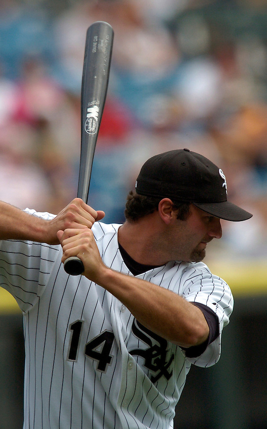 Chicago White Sox first baseman Paul Konerko during the 2005 MLB season.