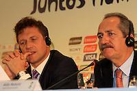 RIO DE JANEIRO, RJ, 30 DE MAIO 2012 - SORTEIO COPA DAS CONFEDERACOES - O secretario-geral da FIFA, Jerome Valcke durante sorteio da Copa das Confederações, torneio que antecede a Copa do Mundo e que será disputado entre 15 e 30 de junho de 2013. No Hotel Sheraton, na Barra da Tijuca nesta quarta-feira, 30. (FOTO: GUTO MAIA / BRAZIL PHOTO PRESS).