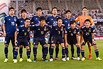 Players of Japan line up and pose for photos prior to the AFC Asian Cup UAE 2019 Group F match between Oman (OMA) and Japan (JPN) at Zayed Sports City Stadium on 13 January 2019 in Abu Dhabi, United Arab Emirates. Photo by Marcio Rodrigo Machado / Power Sport Images