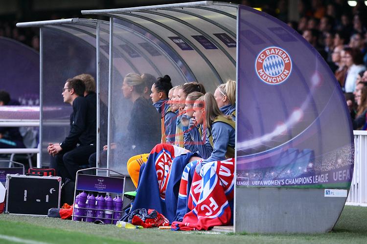 UEFA Women's Champions League 2018/2019.<br /> Semi Finals<br /> FC Barcelona vs FC Bayern Munchen: 1-0.