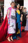 London, UK. 8 May 2016. Artist Grayson Perry with wife. Red carpet  celebrity arrivals for the House Of Fraser British Academy Television Awards at the Royal Festival Hall.