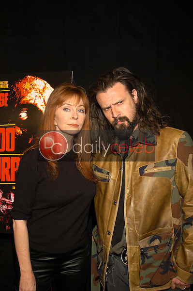 Cassandra Peterson and Rob Zombie