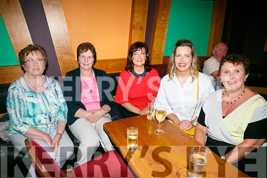 "Enjoying  An Riocht fundraising concert with ""The Kilkenny's"" at the River Island Hotel Castleisland on Saturday were Nelly Healy, Sheila Tangney, Siobhan Moynihan, Brenda Healy Brennan, Mary Moynihan"